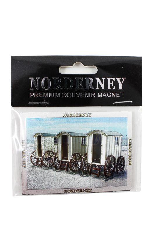 Magnet Norderney Bäderwagen