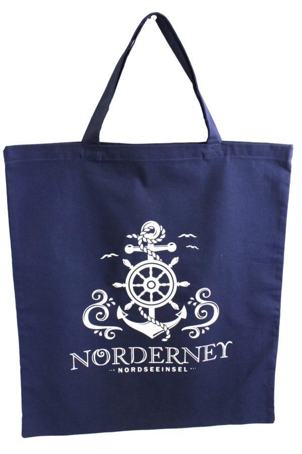 """Baumwolltasche blau Anker """"Norderney"""""""