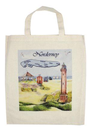 """Baumwolltasche natur """"Norderney"""