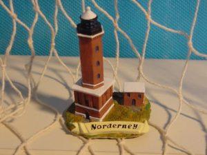 Leuchtturm Norderney 6 cm