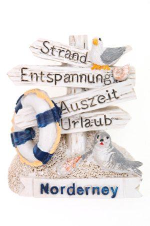 "Magnet Wegweiser ""Norderney"""